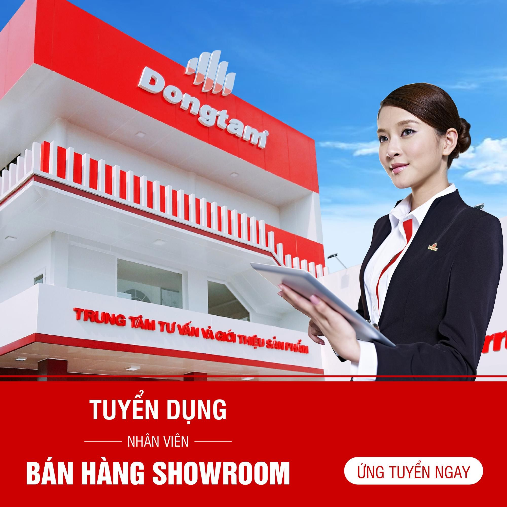 NHÂN VIÊN BÁN HÀNG SHOWROOM _ CN HCM