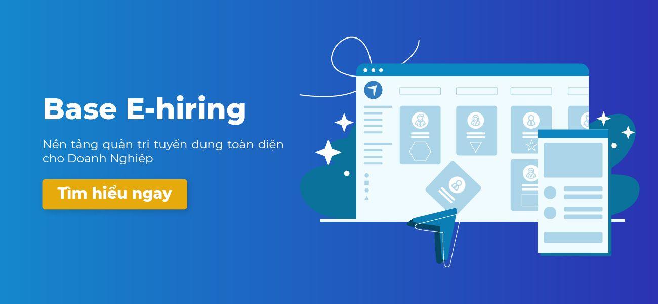 Chiến lược tuyển dụng 08: Công nghệ E-hiring và bước đột phá