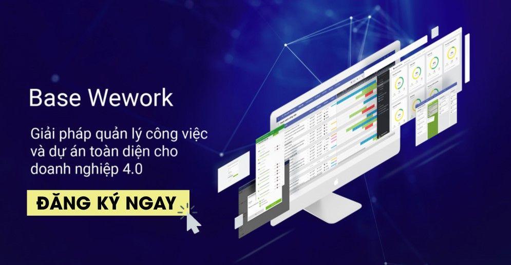 Review phần mềm làm việc nhóm trên điện thoại Base Wework}