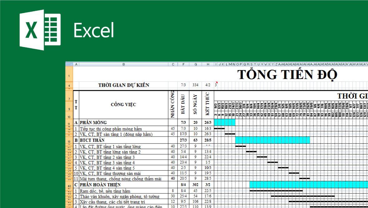 Quản lý tiến độ công việc bằng Excel thời nay có còn hữu dụng?