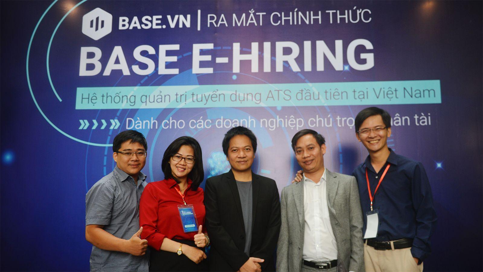 Ra mắt Hệ thống quản trị tuyển dụng ATS đầu tiên tại Việt Nam Base E-hiring